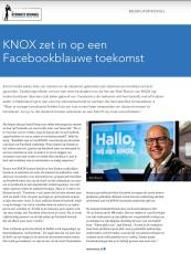 Bedrijfsprofiel KNOX https://issuu.com/driestedenbusiness/docs/driesteden_business_december_1.0_hr