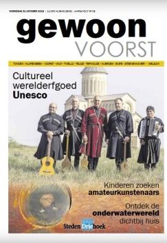 Cover van Gewoon Voorst oktober 2018 https://issuu.com/stedendriehoek/docs/181030190311-d8926d244fd64c029f3212d394ef424c