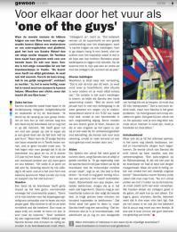 https://issuu.com/stedendriehoek/docs/nieuwsblad_stedendriehoek_gewoon_vo_e92209484b94a3 Sandra Wetzel, de enige vrouw bij de Twellose brandweer, vertelt haar verhaal.