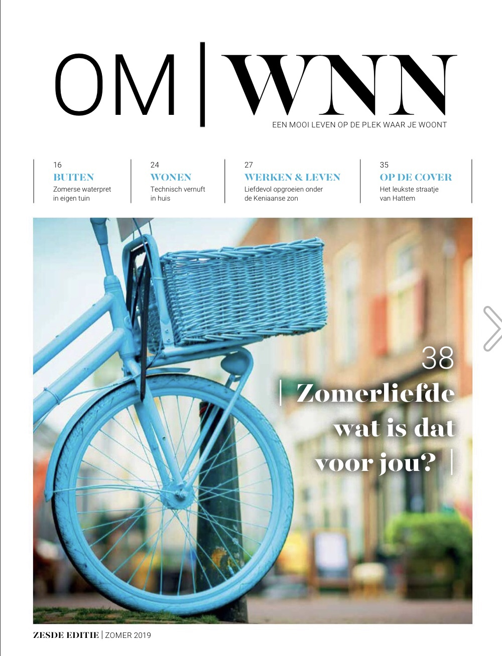 Cover OmWonen editie 6_zomer 2019