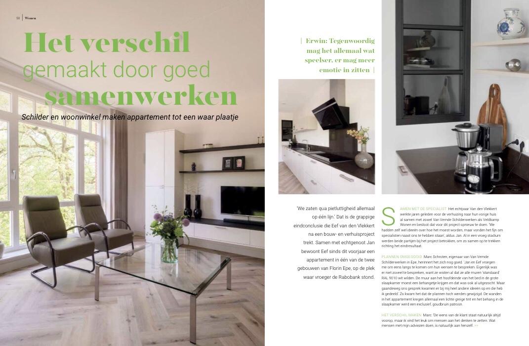 OmWonen editie 6 Van Vemde Schilderwerken + Veldkamp Wonen